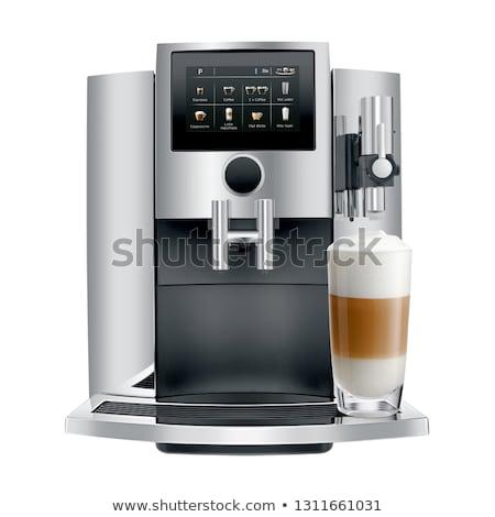 Modern coffee machine. Stock photo © RAStudio