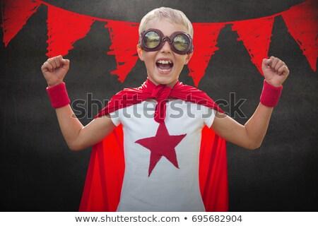 composite image of children dressed as superman stock photo © wavebreak_media