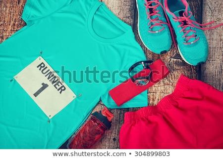 ランナー レース ストックフォト © iconify