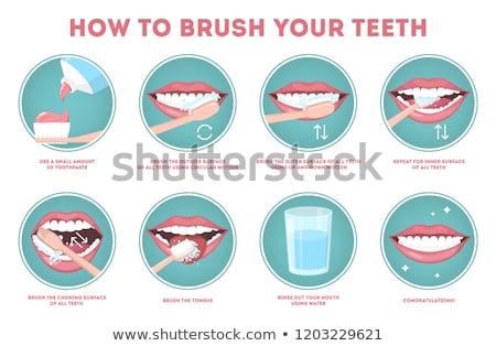 緩い · 歯 · 実例 · 少年 · 子 - ストックフォト © bluering