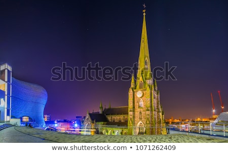 St Martin in the Bull Ring church in Birmingham, England, the UK. Stock photo © photocreo