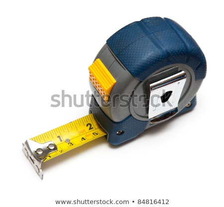 Tape measuring with lock Stock photo © bluering