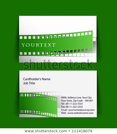film business card light Stock photo © VadimSoloviev