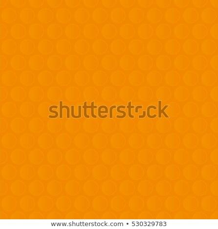 Bubble Wrap. Orange Neutral Seamless Pattern for Modern Design i Stock photo © almagami