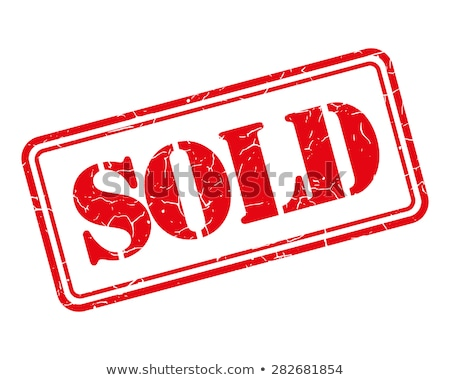 Sold out rubber stamp Stock photo © IMaster