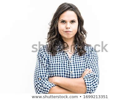 Young Girl Standing In Studio stock photo © monkey_business