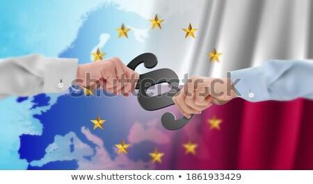 Párrafo símbolo bandera Polonia 3D Foto stock © drizzd