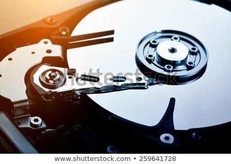 открытых компьютер диска бизнеса безопасности Сток-фото © BrandonSeidel