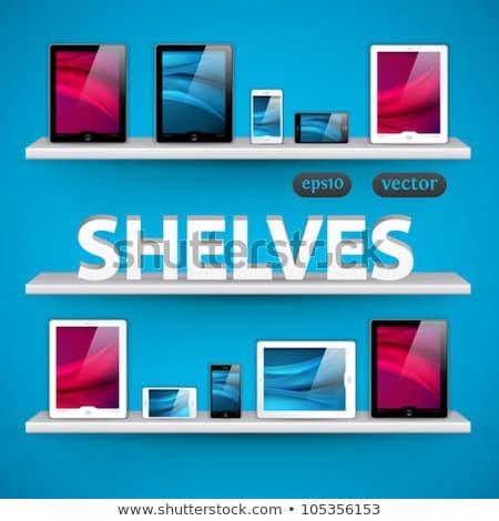 Boş ekran tablet şablon beyaz Stok fotoğraf © masay256
