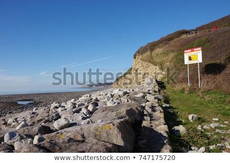 Llantwit Major Coastline Stock photo © smartin69