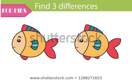 Nyulak három különböző színek illusztráció nyúl Stock fotó © bluering