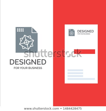 File Card with Work Processes. 3D Render. Stock photo © tashatuvango