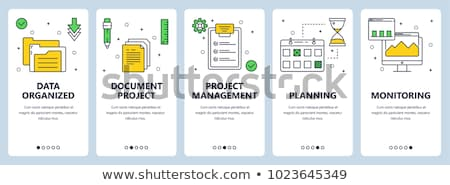 Project Management Concept with Doodle Design Icons. Stock photo © tashatuvango
