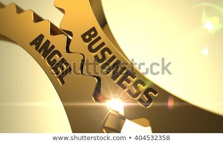 ビジネス · エクイティ · 女性実業家 · 赤 · マーカー · ペン - ストックフォト © tashatuvango