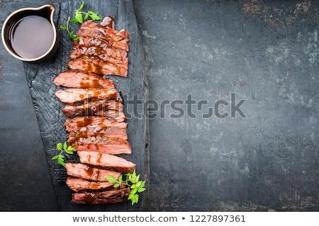 Old charcoal flat iron Stock photo © 5xinc