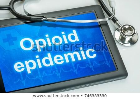 épidémie santé danger médicaux crise ordonnance Photo stock © Lightsource
