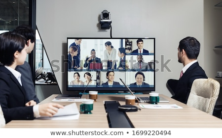 Businessman in conference room Stock photo © IS2