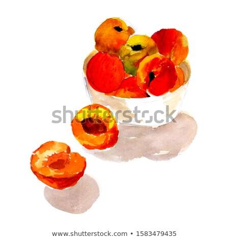 Csendélet friss étel szín édes érett Stock fotó © monkey_business