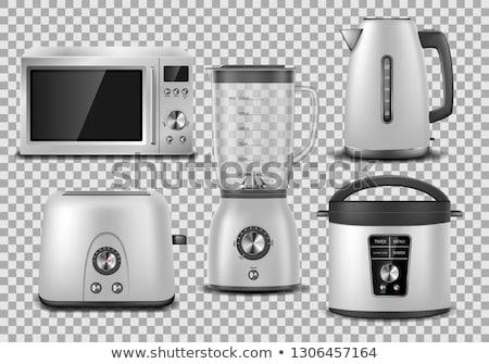 Iç gümüş örnek vektör ev Stok fotoğraf © yo-yo-