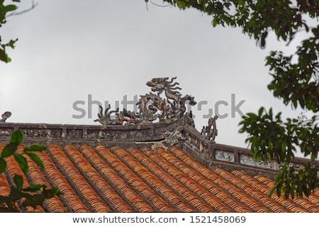 Hue, Vietnam. Statue, decoration at Imperial Forbidden City Stock photo © romitasromala