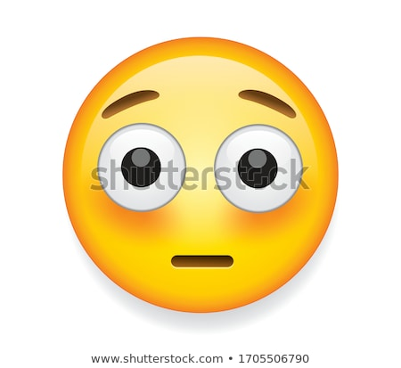 Embarrassé rouge joues homme heureux Photo stock © yayayoyo