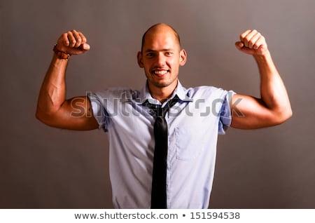 iş · adamı · görüntü · iş · güçlü · işadamı - stok fotoğraf © Imabase