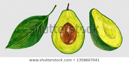 オーガニック 緑 グリッド 食品 ストックフォト © laciatek