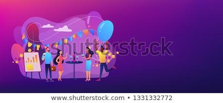 Office fun header or footer banner. Stock photo © RAStudio