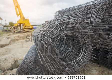 wall reinforcement with metal mesh Stock photo © romvo