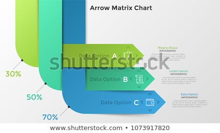 Infographics and Pointers Information Presentation Stock photo © robuart