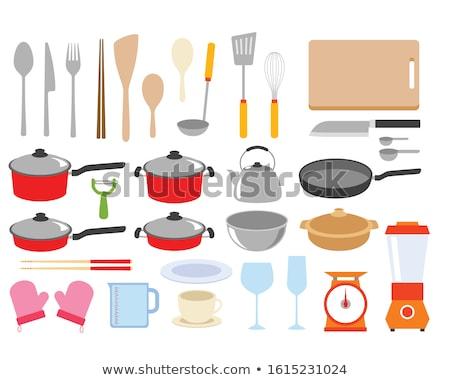vector set of kettle stock photo © olllikeballoon