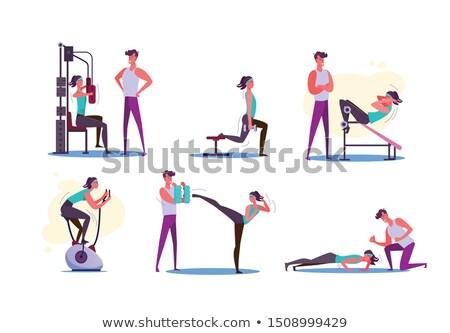 esportes · equipamento · áspero · vetor · desenho - foto stock © robuart