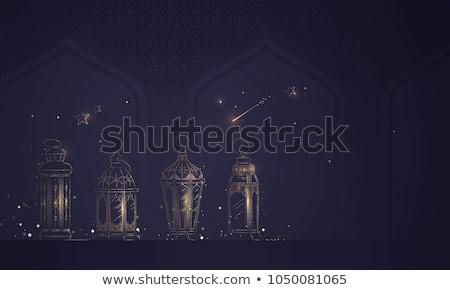 ramadan · banners · camelos · mesquita · fundo - foto stock © robuart