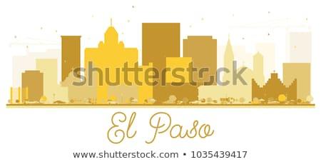 Paisaje urbano Texas ciudad panorama horizonte centro de la ciudad Foto stock © Winner