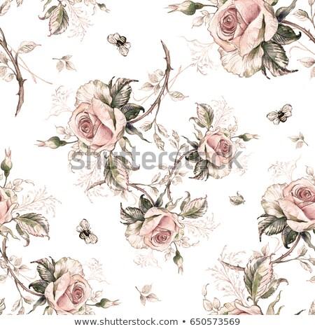 bee · honingbij · honing · bloem · voorjaar - stockfoto © robstock