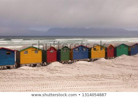 Multicolore spiaggia sole Ocean cielo mare Foto d'archivio © wavebreak_media