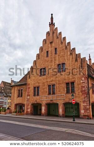 старые Таможня дома реке банка Сток-фото © borisb17