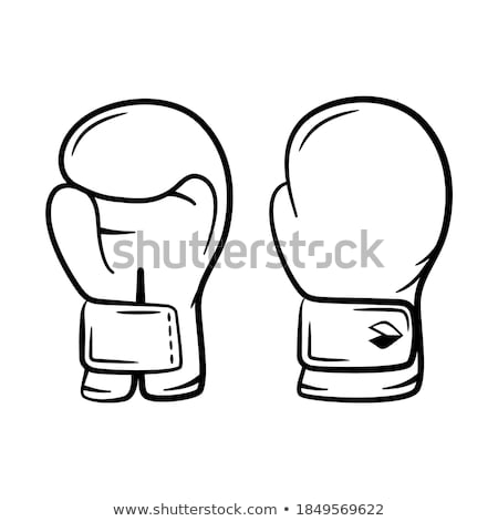 Boxing Glove Protect Sportwear Color Vector Stock photo © pikepicture