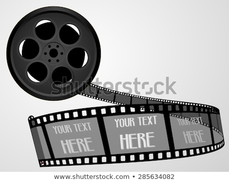 Film Strip For Ancient Camera Monochrome Vector Stock photo © pikepicture