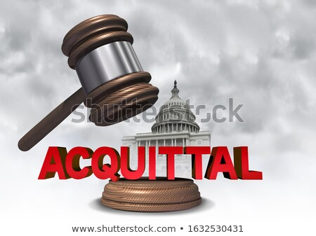 Acquittal US Congress Stock photo © Lightsource