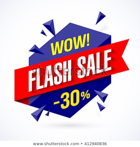 Only Today 30 Percent Off Price, Discount Banner Stock photo © robuart