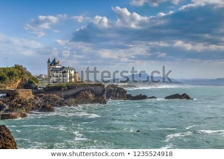 Villa Beltza, Biarritz, France Stock photo © borisb17