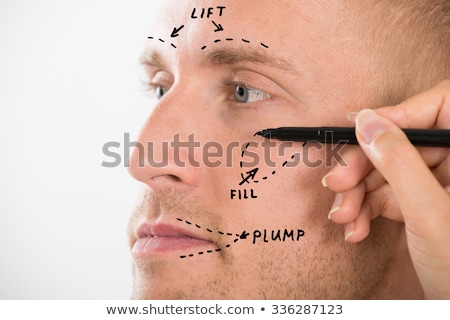 Cosmetic Aesthetic Facial Man Surgery Stock photo © AndreyPopov