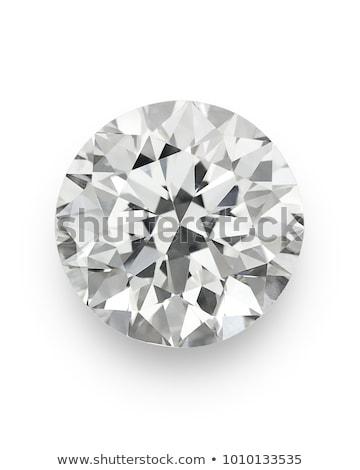 four view of diamond isolated on white stock photo © oneo