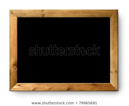 leren · marketing · witte · krijt · Blackboard - stockfoto © ansonstock