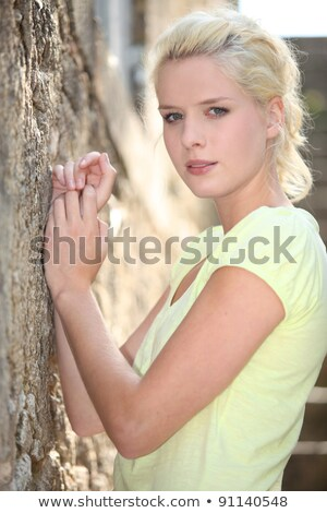 portrait of gorgeous blonde in her prime Stock photo © photography33