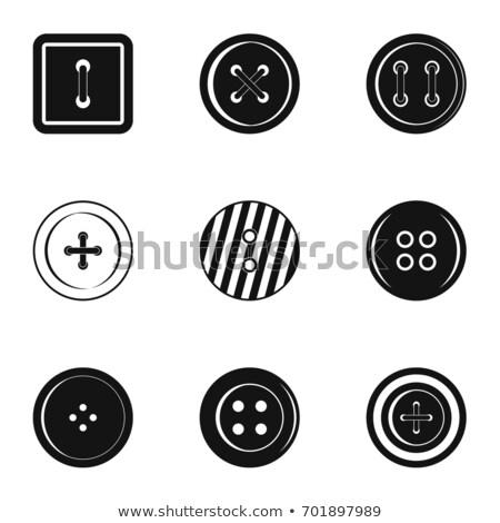 set of nine glossy circular icons stock photo © davidarts