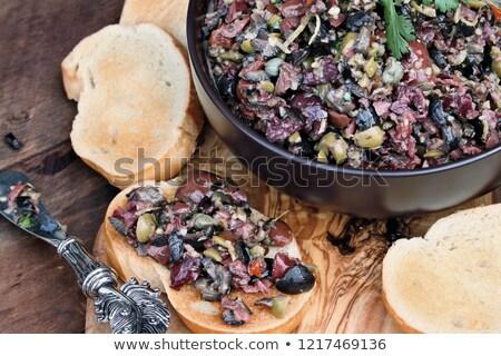 Makarna aşırı İtalyan yemek gıda Stok fotoğraf © calvste