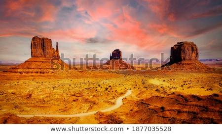 monument sundown Stock photo © Paha_L