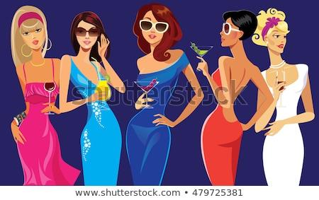 Glamorous lady Stock photo © mtoome